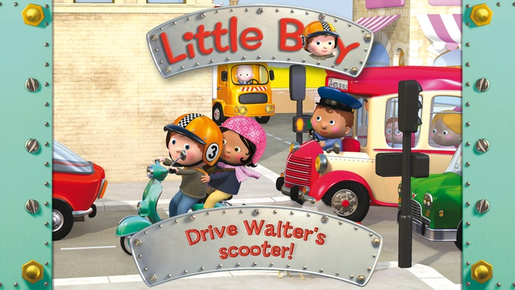 Walter's scooter - Little Boy