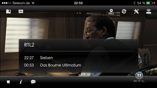 Blackbox Live for Dreambox and Vu+ (formerly Dreambox LIVE) Screenshot on iOS