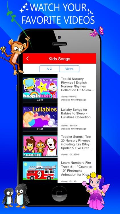 Kids Videos HD -  safe YouTube video for kids screenshot-3