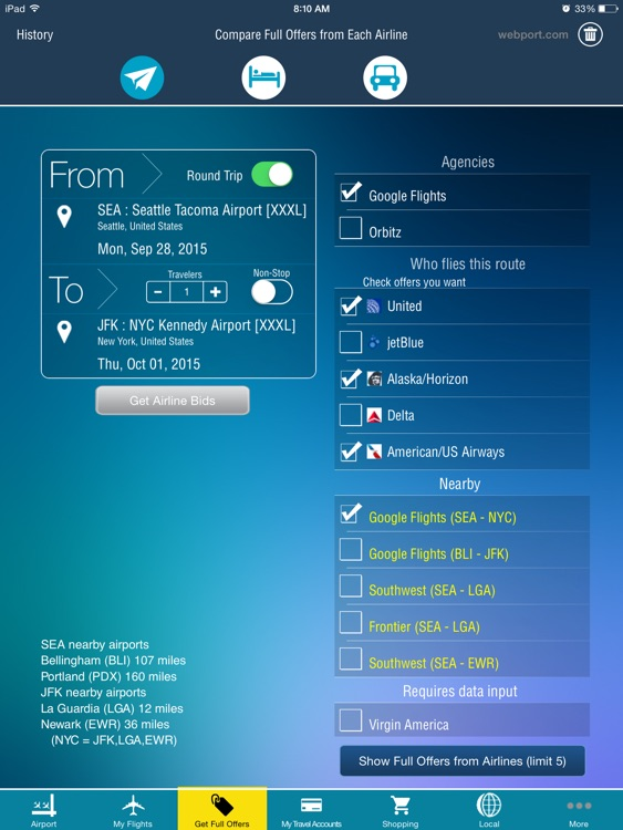 Airport (All) HD + Live Flight Tracker -all airports and flights in the world +flight status double check -radar screenshot-3