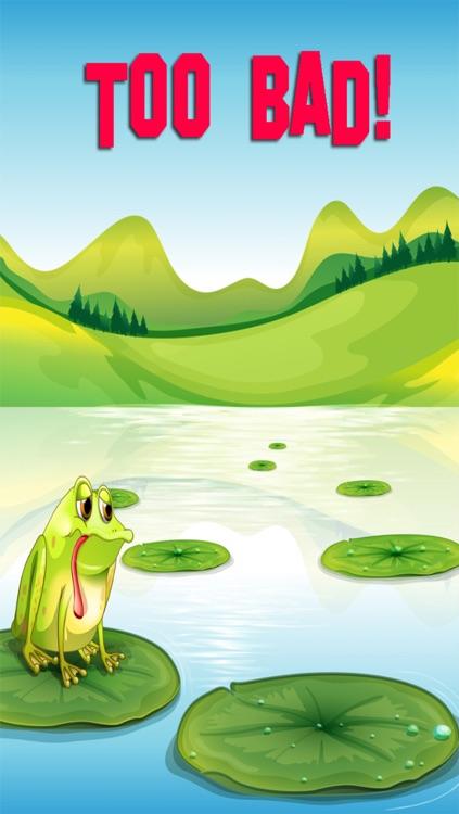 Jumpy Frog - Don't Step Into Water! screenshot-4