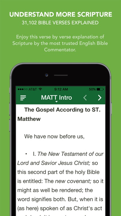 Matthew Henry Commentary with Audio - 31,102 Bible verses explained