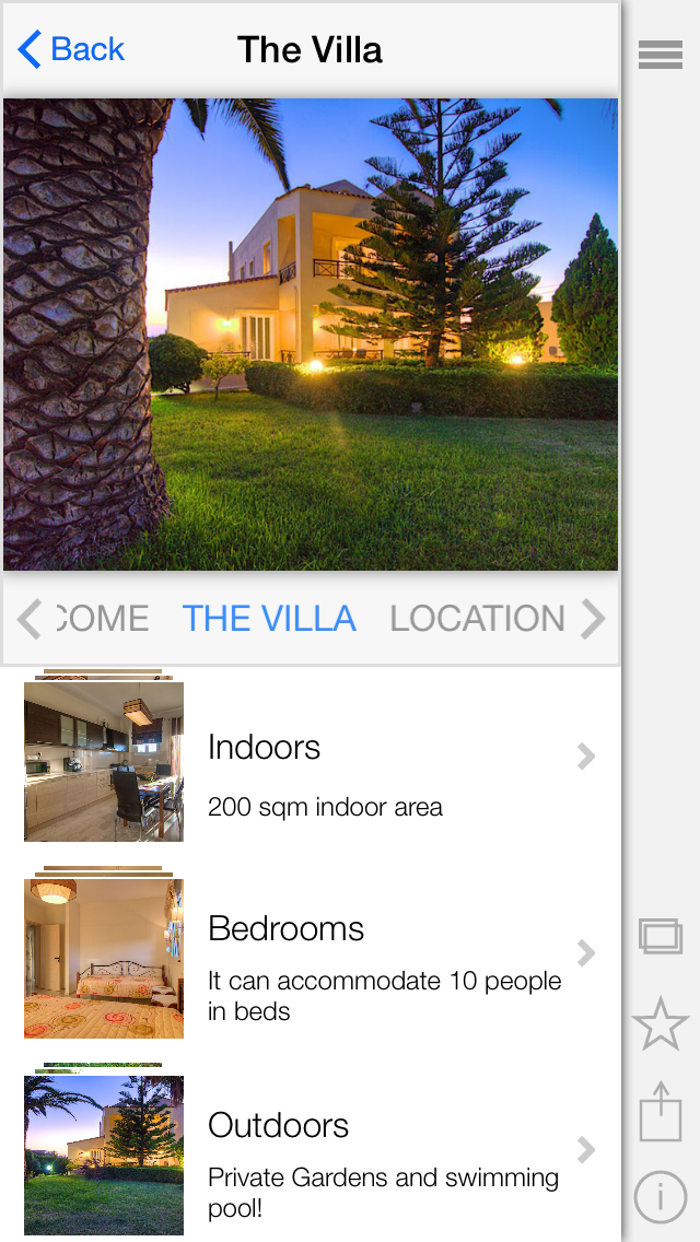Villa Joanna screenshot two