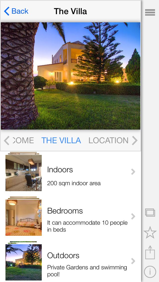 Villa Joanna screenshot two