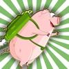 Farm Es-Cape: Crazy-Brave Pig Flaps A-Gain