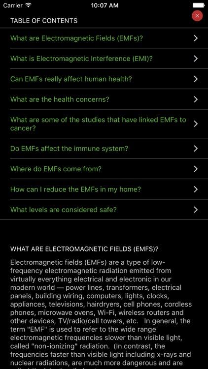 EMF Radiation Detector screenshot-3
