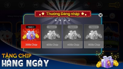 Tien Len Mien Nam doi thuong, Mau Binh, Xi To, Lieng - Game bai doi thuong 1.0.8  IOS