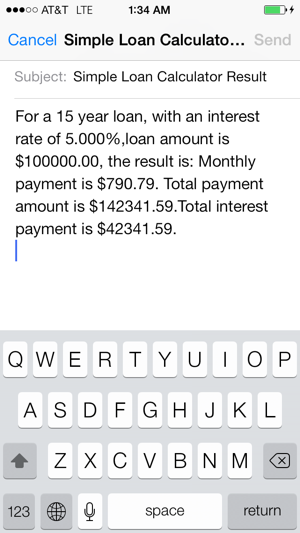 simple loan calculator on the app store