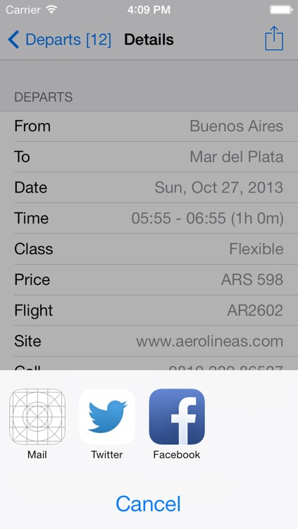 Argentina Flight screenshot-3