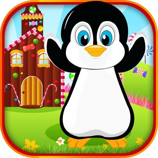 A Penguin Candy Raid FREE- An Amazing Epic Sugar Collecting Maze Saga iOS App