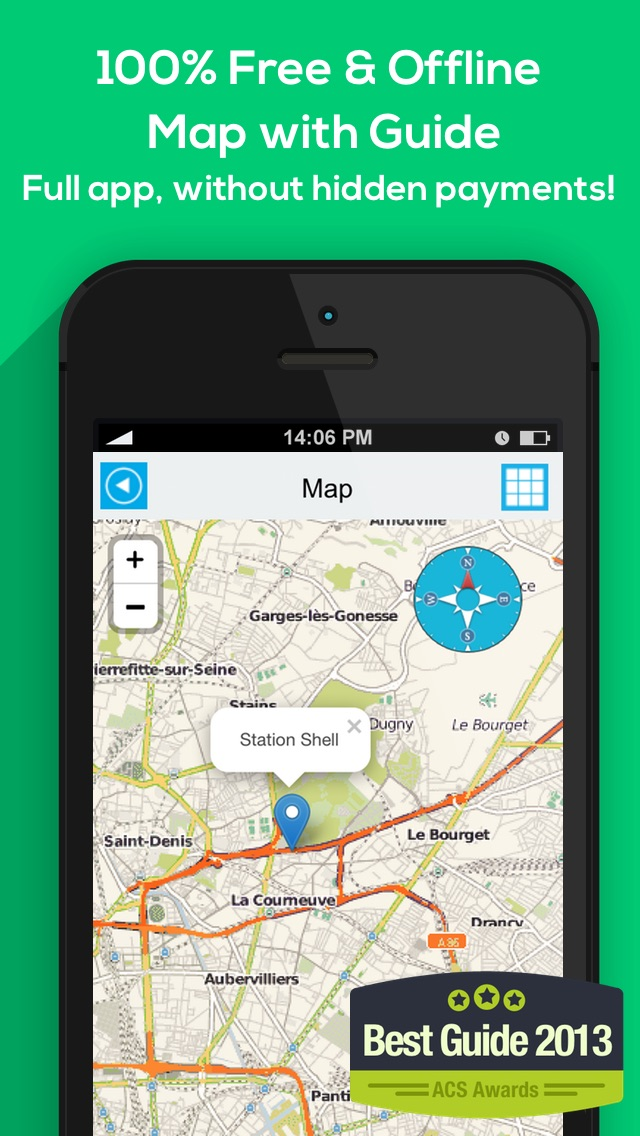 Indonesia offline map, guide, weather, hotels. Free GPS navigation. iPhone
