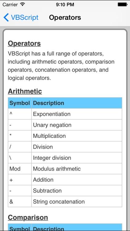 VBScript Pro FREE