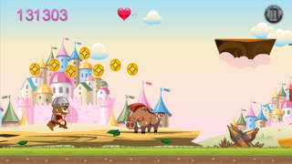 King Castle Rush Quest - Kingdom Fighting Princess Free screenshot four