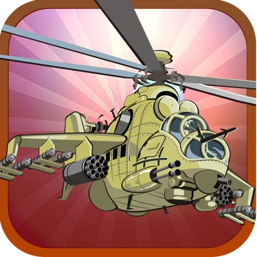 Awesome Helicopter War Assault Game By Army Flight Shooter Free icon