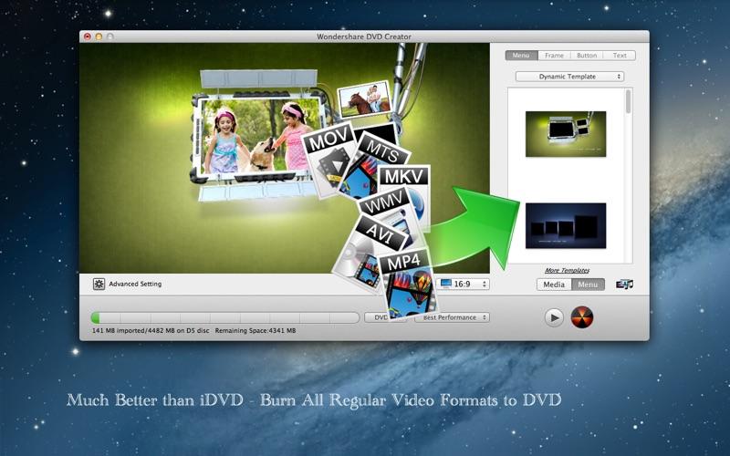 DVD-Creator Screenshot