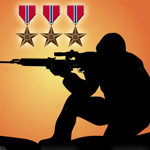 Army Sniper Desert War Hero Free