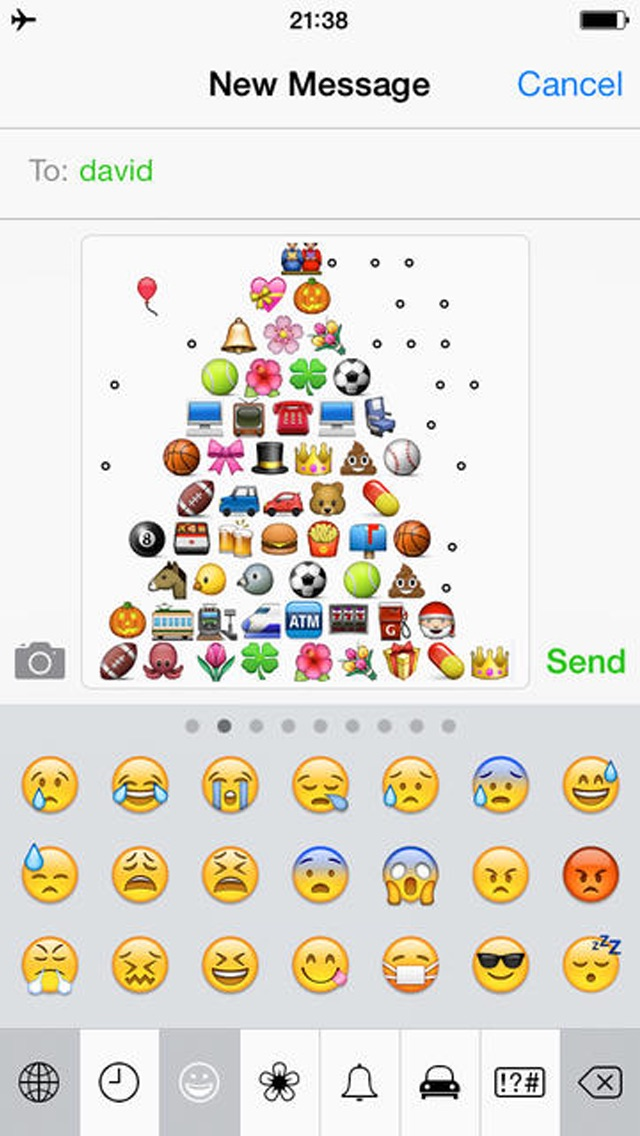 Emoji Keyboard 2 - Smiley Animations Icons Art & New Hot/Pop Emoticons Stickers For Kik,BBM,WhatsApp,Facebook,Twitter Messenger Screenshot