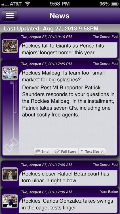 Colorado Baseball Live screenshot-3