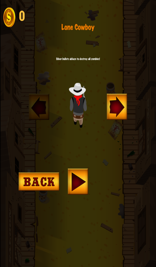 A Call of Monsters: Slender Man Zombies Vs Lone Cowboy - Free Shooting Game screenshot three