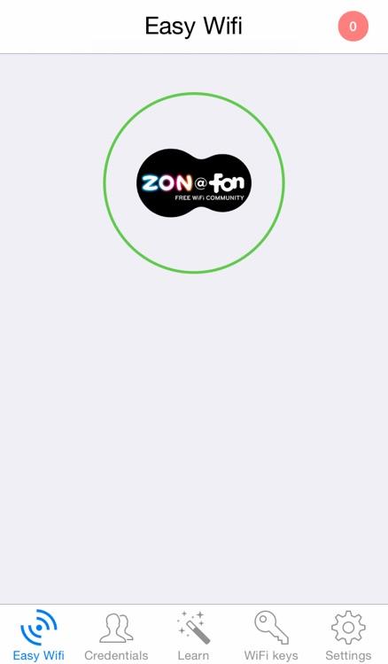 Easy Wifi : automatic connection hotspots fon zon belgacom telenet voo freewifi sfr orange and iCloud sync