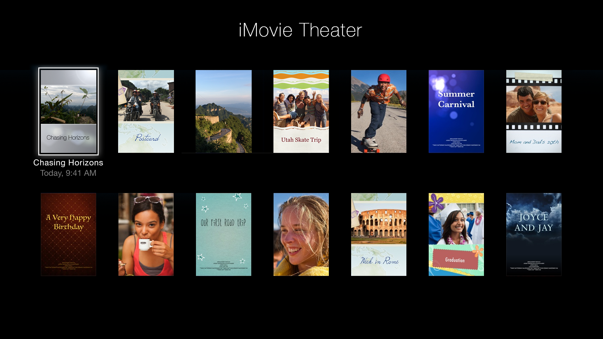 iMovie Theater screenshot 1