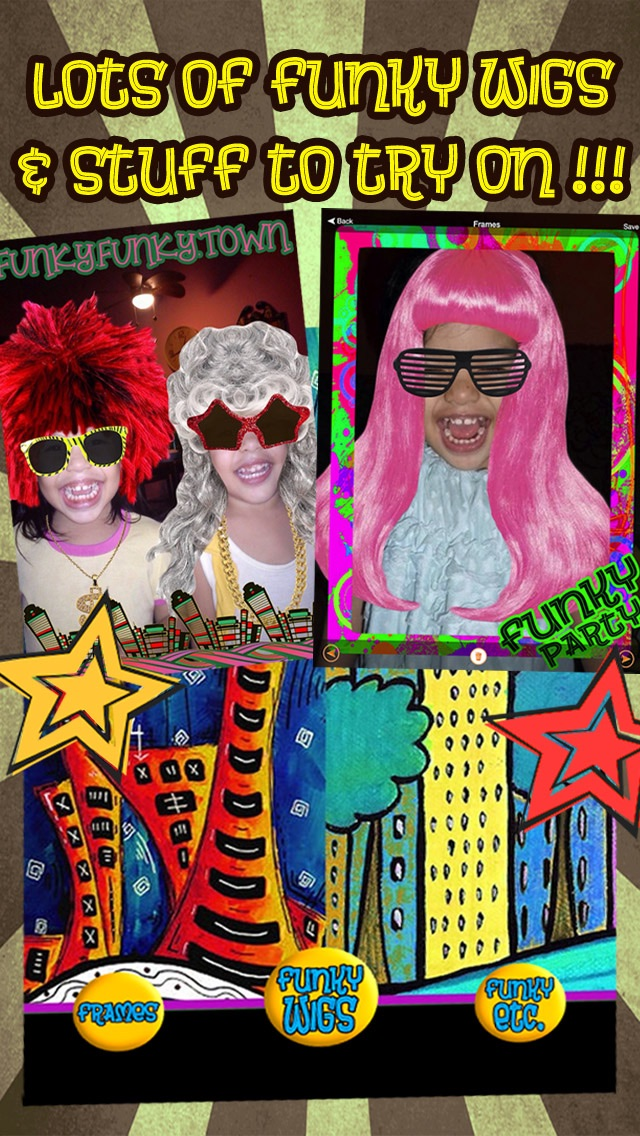 Funkify Photo Booth - FREE Fun Funky Wigs, Stickers, and Frames ...