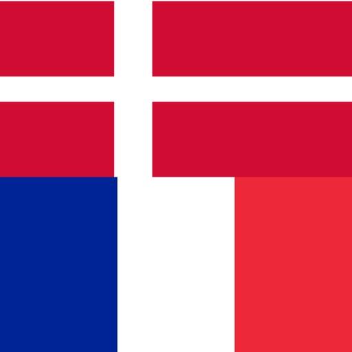 Danish - French - Danish dictionary