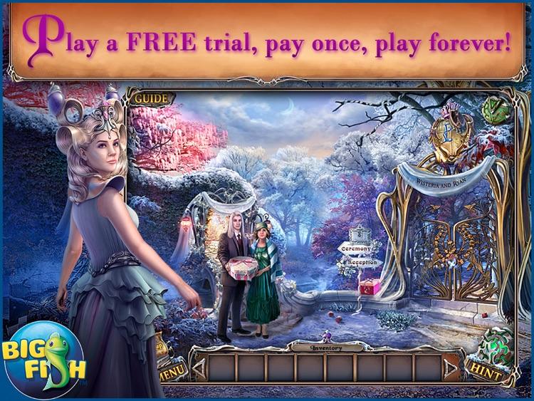 Sable Maze: Forbidden Garden HD - A Magical Hidden Object Game screenshot-0
