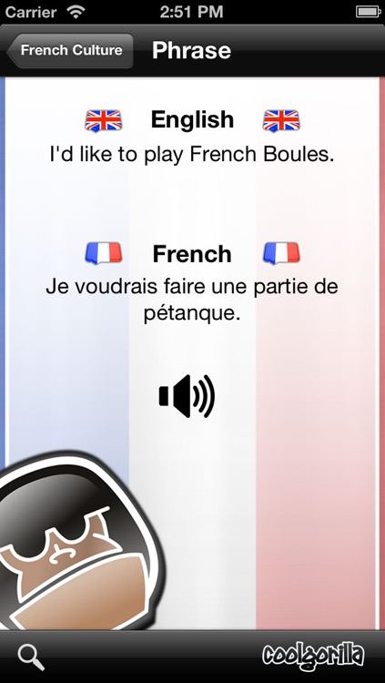 French Talking Phrasebook screenshot-4