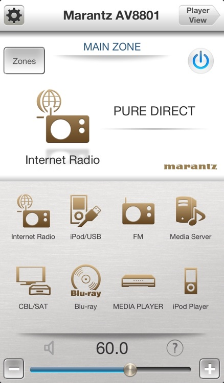 Marantz Remote App screenshot-0