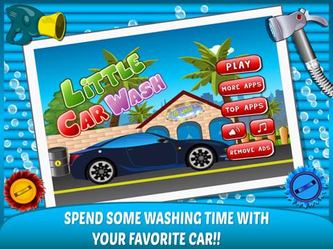 Little Car Wash –washing up free kids Games-ipad-0