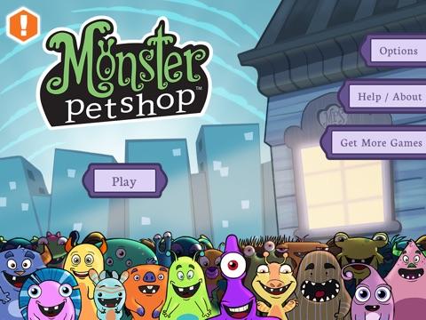 Игра Monster Pet Shop