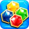 Mania Jewel's Match-3 - diamond game and kids digger's quest hd free