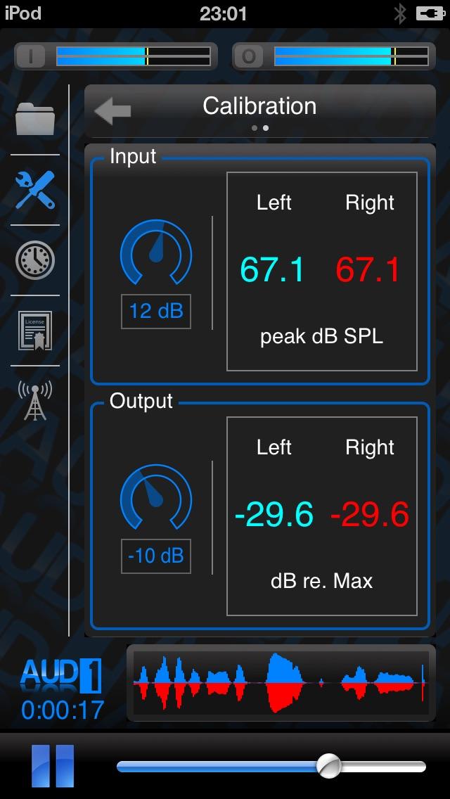 Screenshot for AUD-1 in Peru App Store