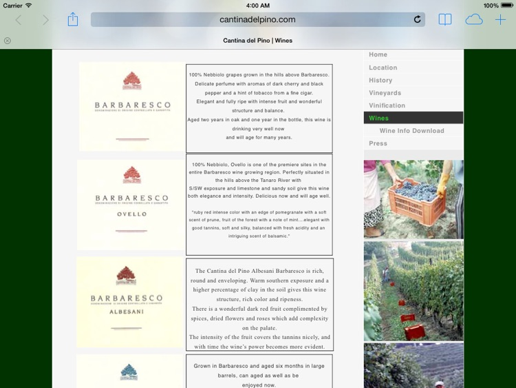 Neive Wine Map screenshot-4