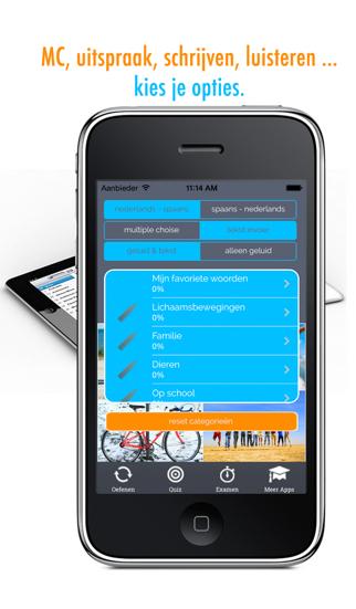 Learn Spanish and Dutch Vocabulary: Memorize Spanish Words - Free screenshot four