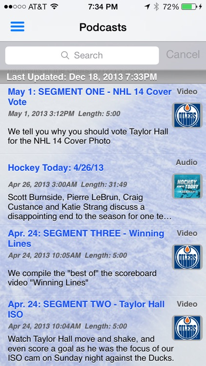 avLive - Pro Hockey Radio screenshot-4