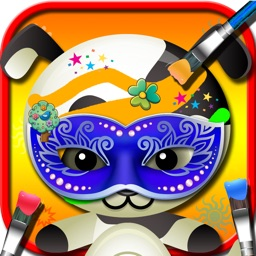 Baby pet face art – Animal beauty decor & painting free game for girls & kids