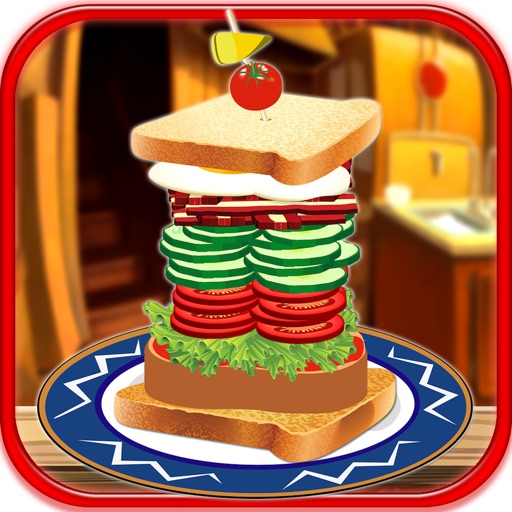 Stack It Sky High Sandwich Maker Building Game FREE. iOS App