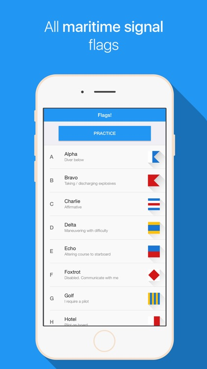Flags! - Maritime signal flags screenshot-0