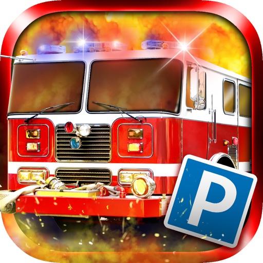 3D Firetruck Parking PRO - Full 2015 Emergency Vehicle Simulation Version