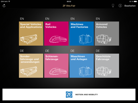 ZF XtraFair screenshot 1