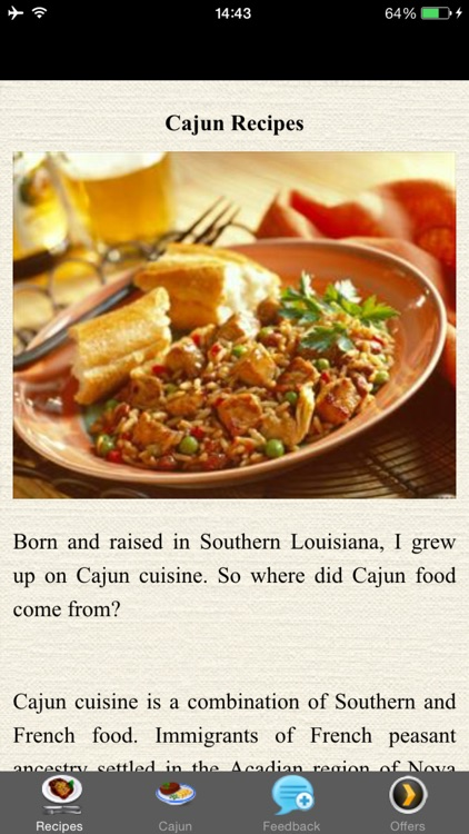 Cajun Recipes - Old-Fashioned Cooking screenshot-3