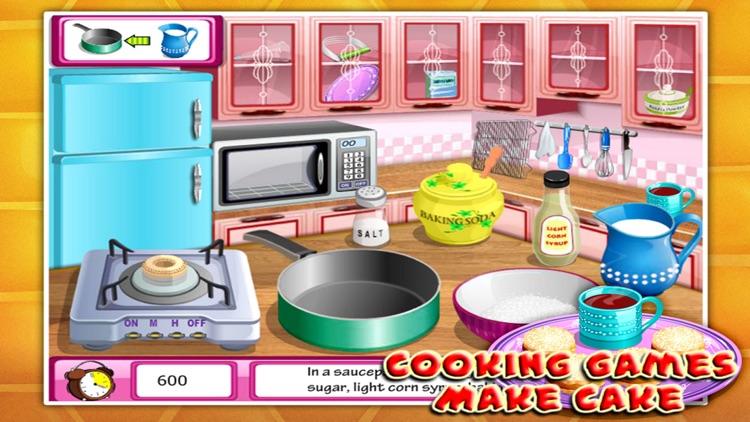 Cooking Games:Make Cake