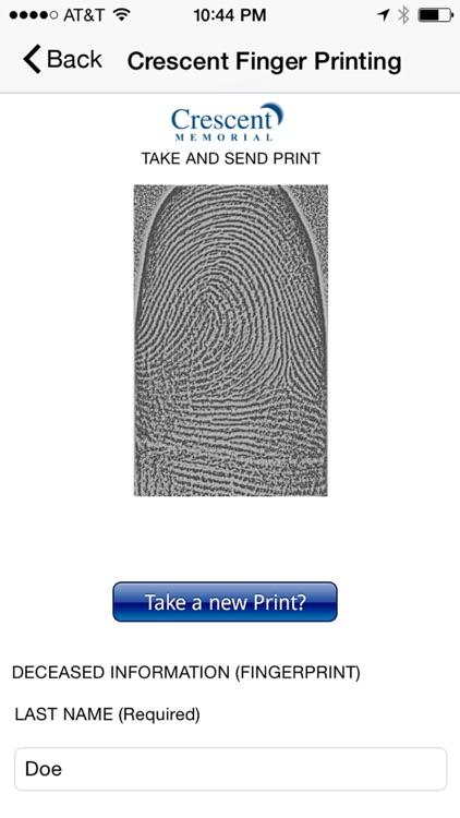 Crescent Finger Print Solution app image