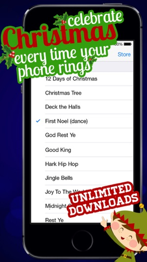 screenshots - Free Christmas Ringtone