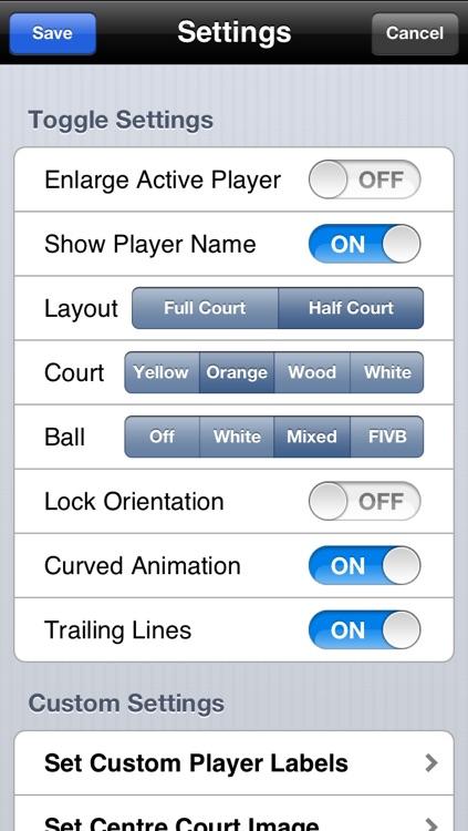 Volleyball Strategy Tool screenshot-3