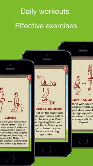 Tabata! Daily 4-Minute Workouts Screenshot