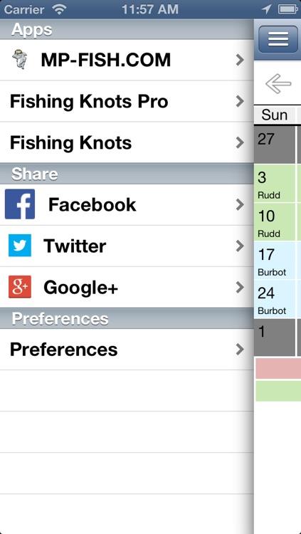 MP Fishing Calendar screenshot-4