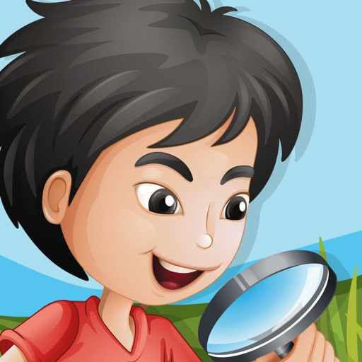 Aaron the little detective: Hidden Object game for kids icon
